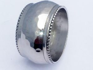 Silver Metal Napkin Ring