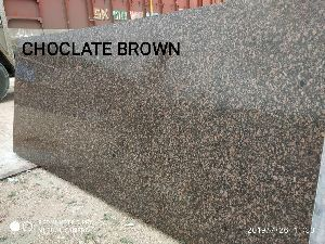 Chocolate Brown Granite Slab