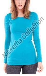 Ladies Full Sleeve T Shirts