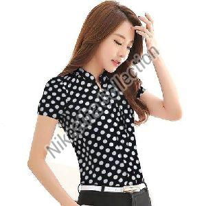 Ladies Polka Dot Shirt