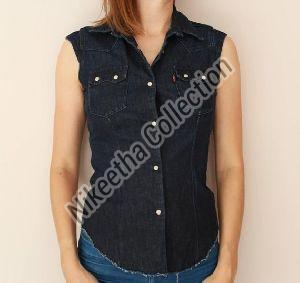 Ladies Sleeveless Shirt
