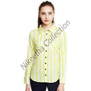 Ladies Striped Shirt
