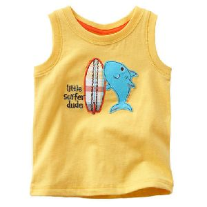 Kids Sleeveless T-Shirts