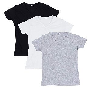 Women Plain T-Shirts