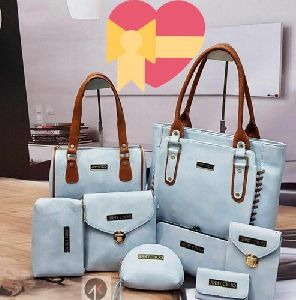 8 Piece Set Ladies Handbag