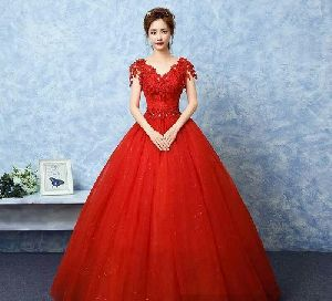 Designer Flared Gown