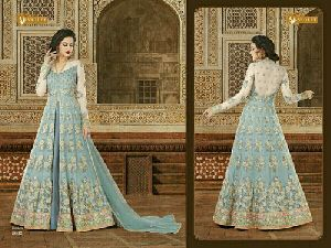 Georgette Anarkali Gown