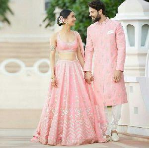 Pink Bollywood Designer Lehenga