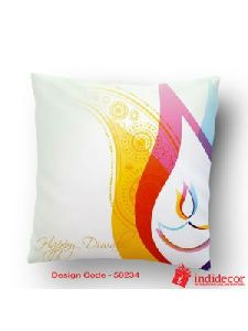 Diwali Printed Cushion