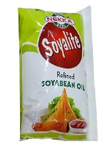 Refined Soyabean Oil Pouch