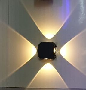 4 Way UP Down LED Wall Mounted Light