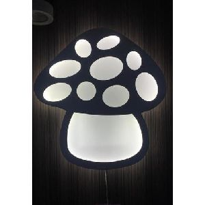 LED Mushroom Wall Light