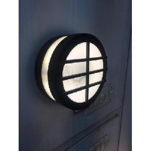 Round Outdoor Light