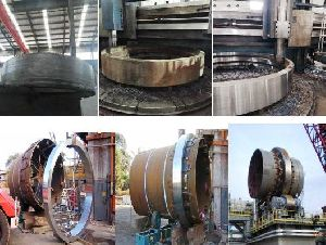 Kiln Tyre for Melleable Iron Plant
