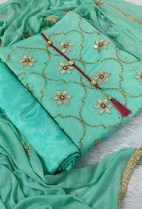 Chanderi Suit Material