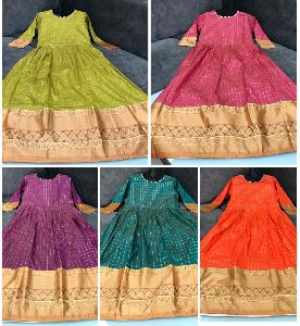 Zari Silk Gown