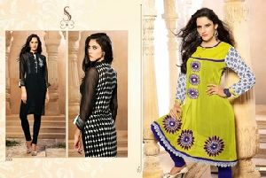 INDIAN DESIGNER READYMADE EMBROIDERED ETHNIC KURTIES/ TUNICS
