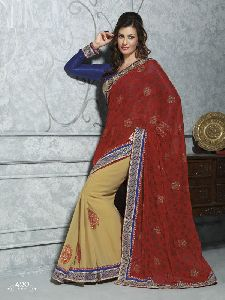 Summer Embroidered Saree
