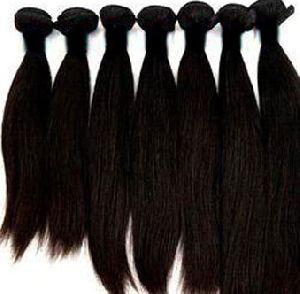 Double Drawn Non Remy Human Hair