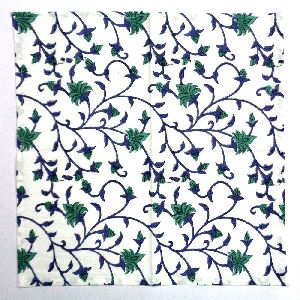 Cotton Napkin Floral Bale Hand Block Printed