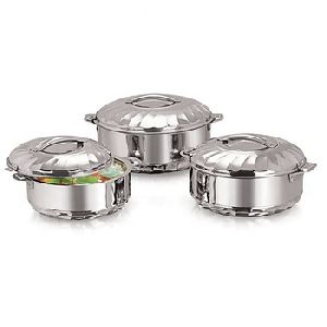 Maximus Stainless Steel Casseroles