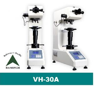 Vickers 30 Kg Bench Top Hardness Testers