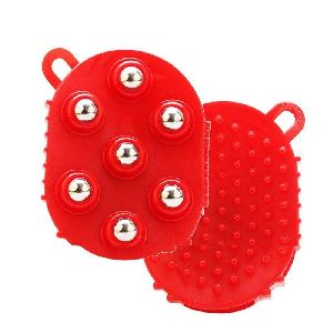 Silicon Glove Magnetic Massager Roller
