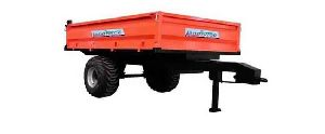 NON TIPPING TRAILER (SINGLE TYRE)