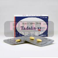Tadalis SX 20mg Tablets
