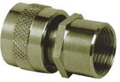Brass Female Adaptor Nickel Plated