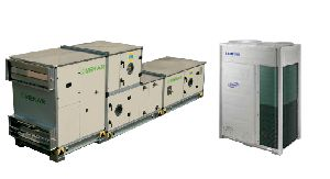 VRF integrated fresh air handling unit