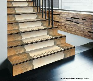 3.25 Ft Wooden Step Riser Tiles