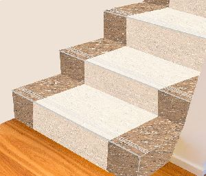 4 Ft Double Colour Step Riser Tiles
