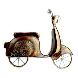 Antique Scooter Wall Hanging