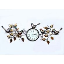 Bird And Leaf Wall Clocks