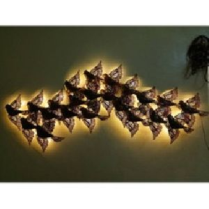Bird Wall Hanging with LED