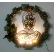 Buddha With Led Wall Hanging