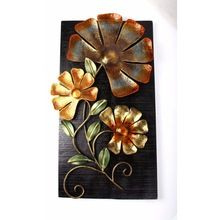 Flower & Leaf Wall Frame