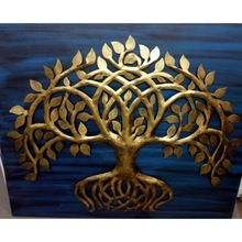 Golden Tree Wall Hanging