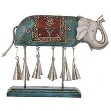 Iron Wood Elephant Bells