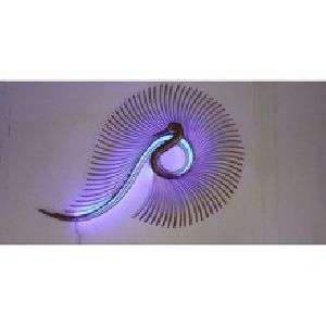 Peackock Wall Hanging with LED
