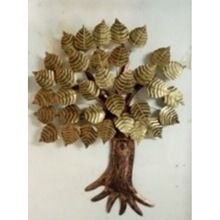 Peepal Tree Metal Wall Hanging