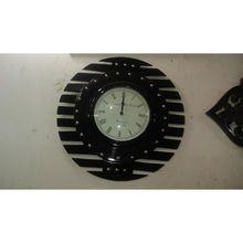 Stripped Wall Clock