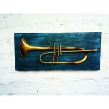 Trumpet Wall Frame