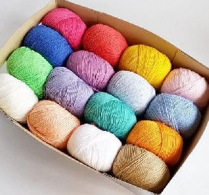 Colored Cotton Yarn