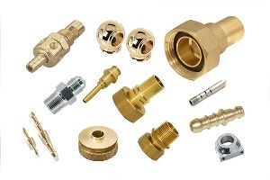 Brass CNC Turned Parts 02