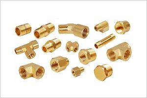 Brass Pipe Fittings 02