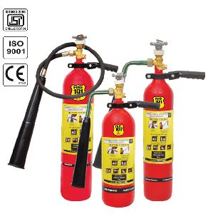 CO2 Blow Up Fire Extinguisher