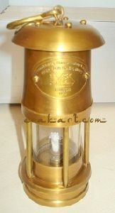 Brass Miner Ship Lamp