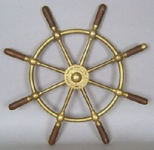 Brass Ship Wheel